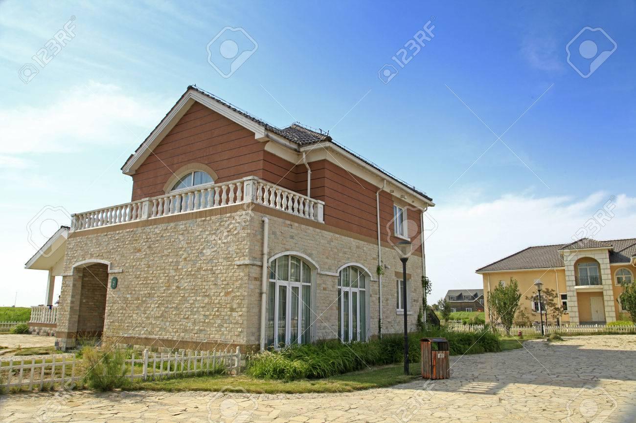 Stock photo the beautiful villas
