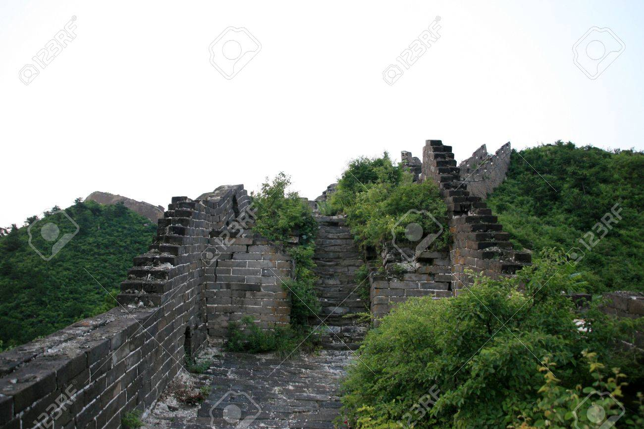 the Great Wall Stock Photo - 4985452