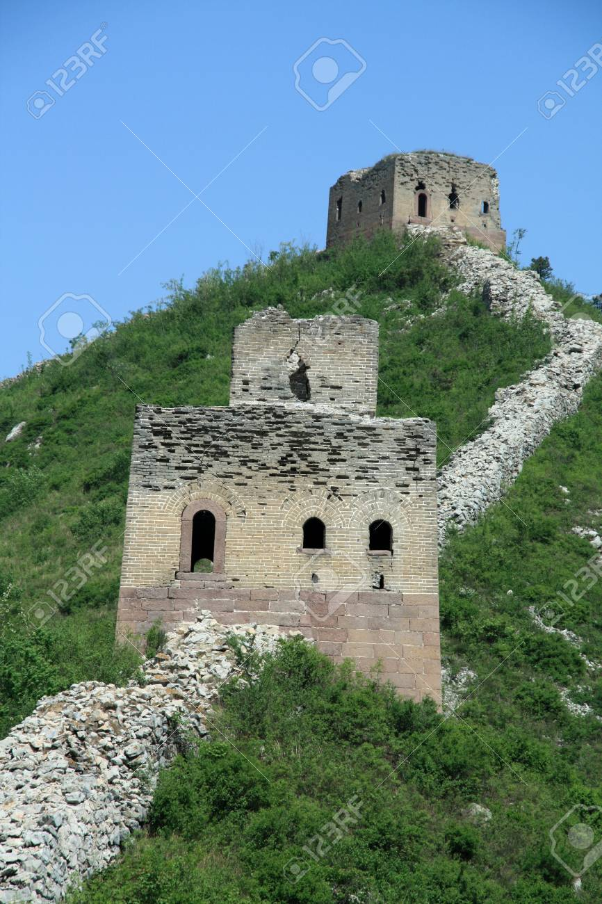 the original ecology of the great wall in north china Stock Photo - 7031713