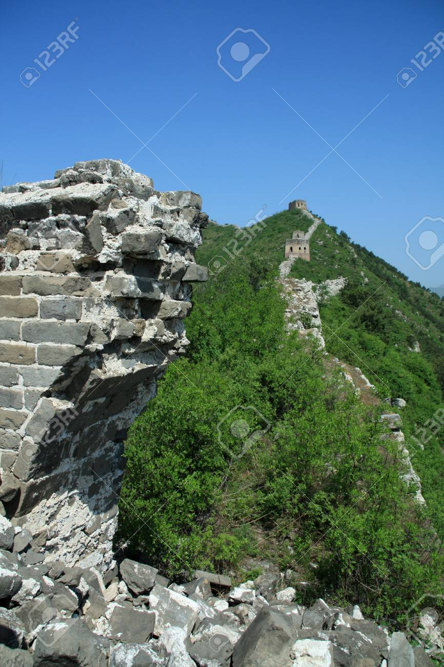the original ecology of the great wall in north china Stock Photo - 7031718
