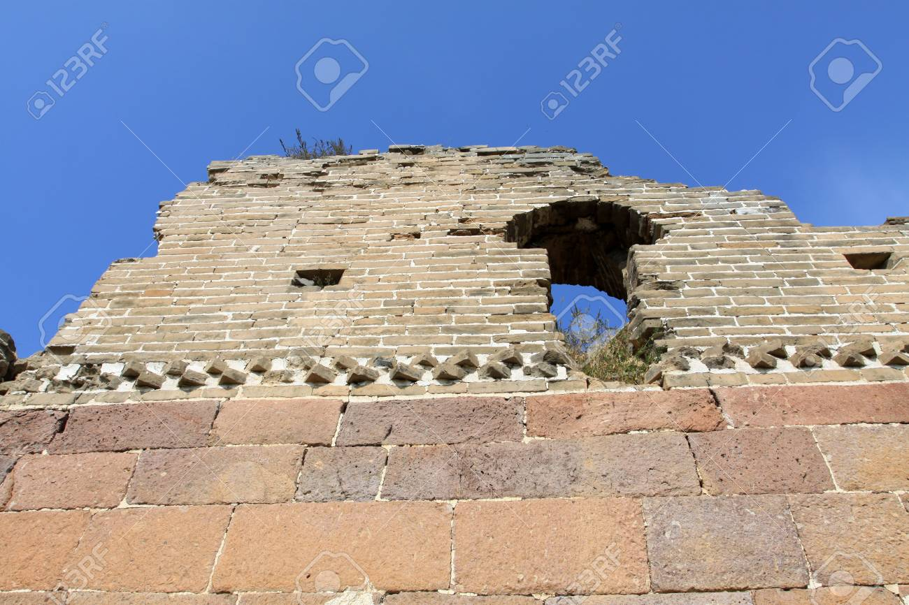 the original ecology of the great wall in north china Stock Photo - 7095983