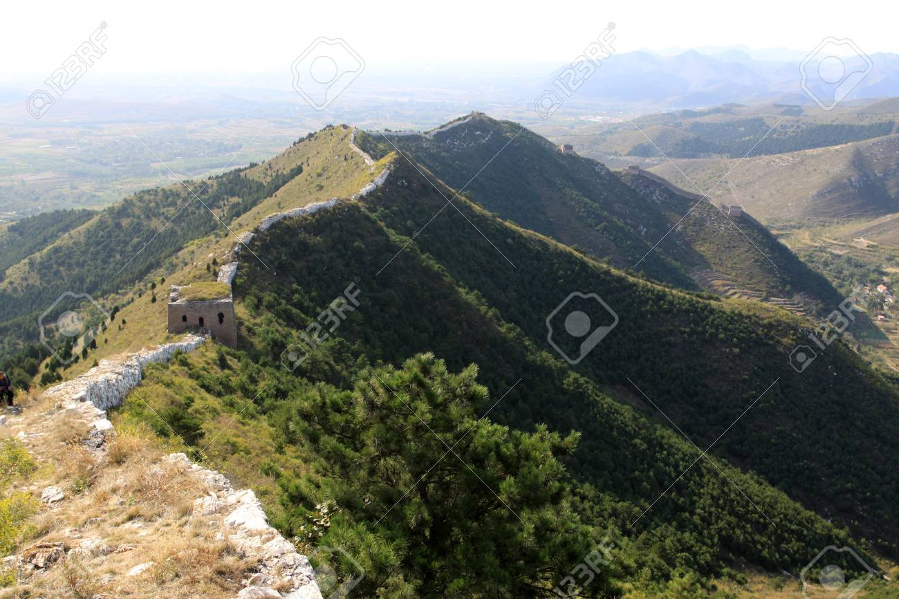 the original ecology of the great wall in north china Stock Photo - 7114449