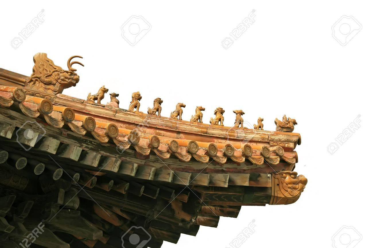 corner eaves of ancient buildings Stock Photo - 7397858