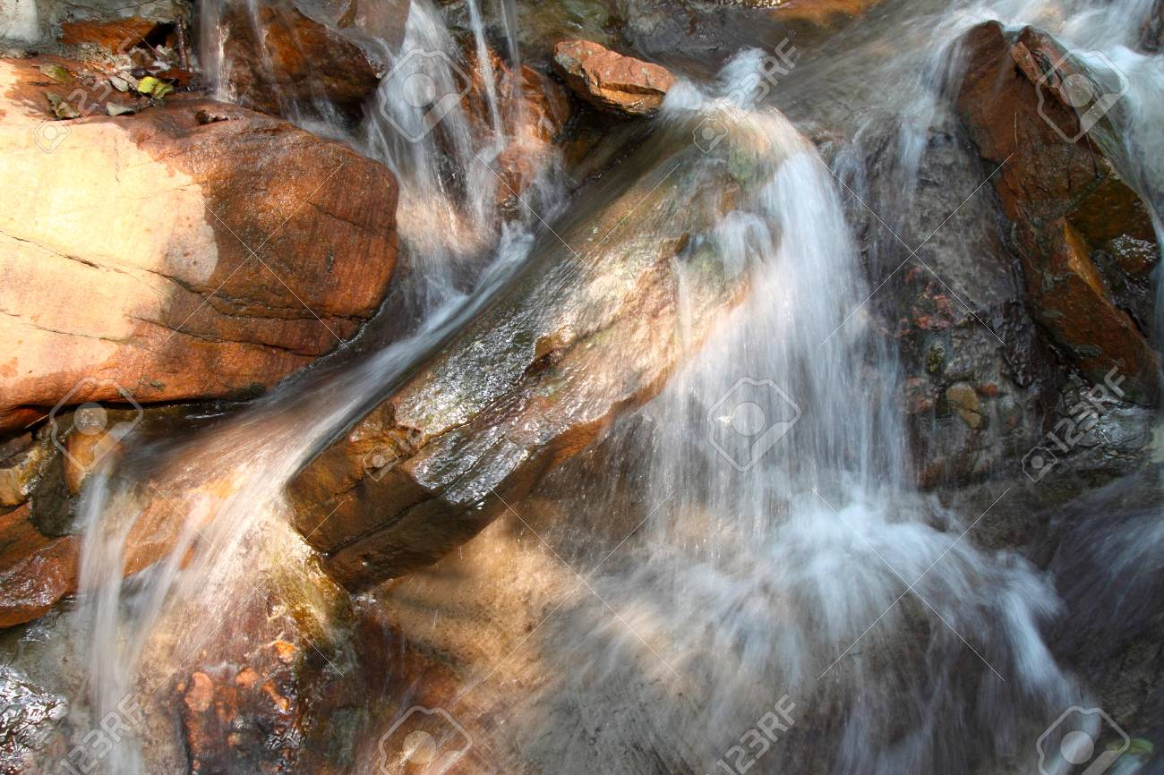 stream in mountain in a geological park Stock Photo - 10645638
