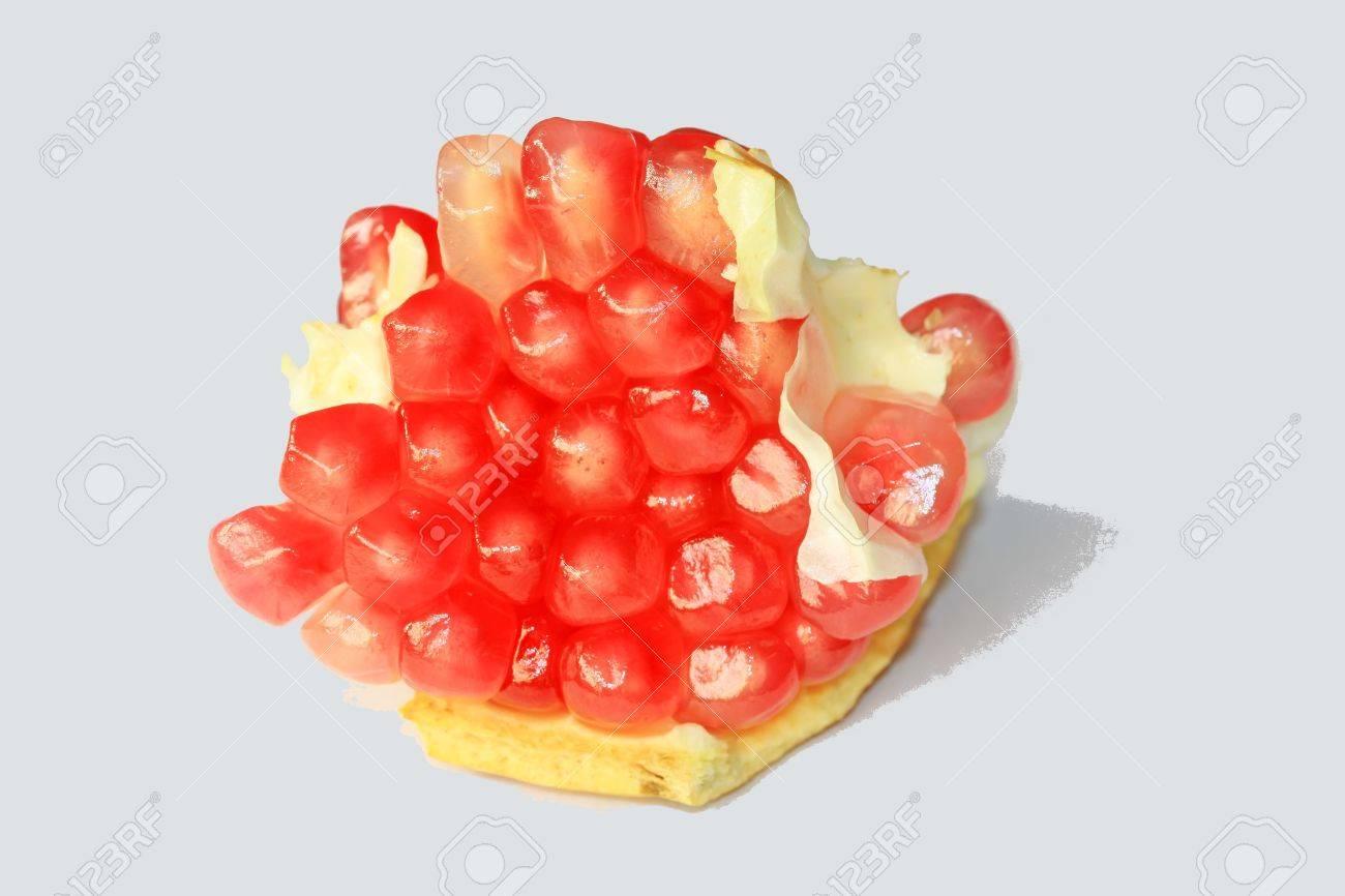 closeup of pomegranate fruit pulp Stock Photo - 10945451
