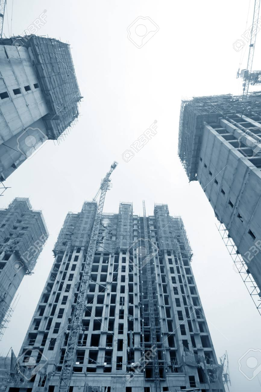 closeup of construction site in china Stock Photo - 11254939