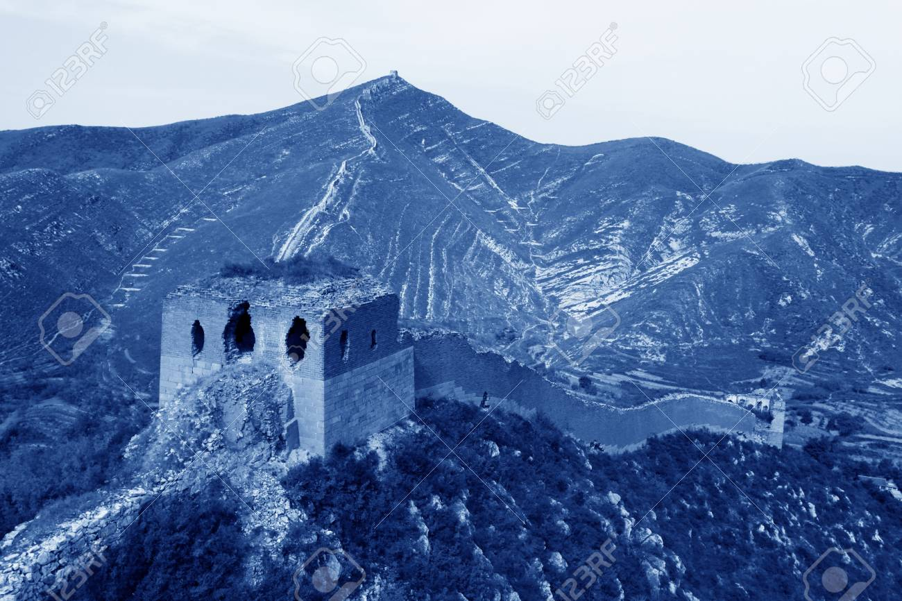 the original ecology of the great wall in north china Stock Photo - 11342019