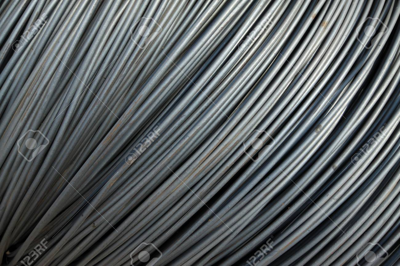rusty steel construction materials, in a construction site, North China. Stock Photo - 12101473