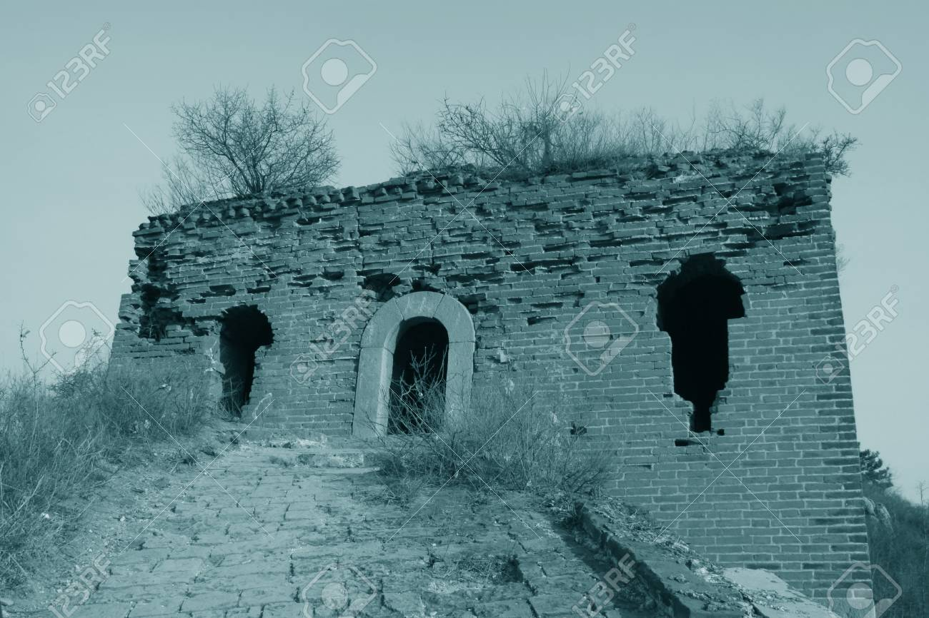 the original ecology of the great wall pass in north china Stock Photo - 13622686