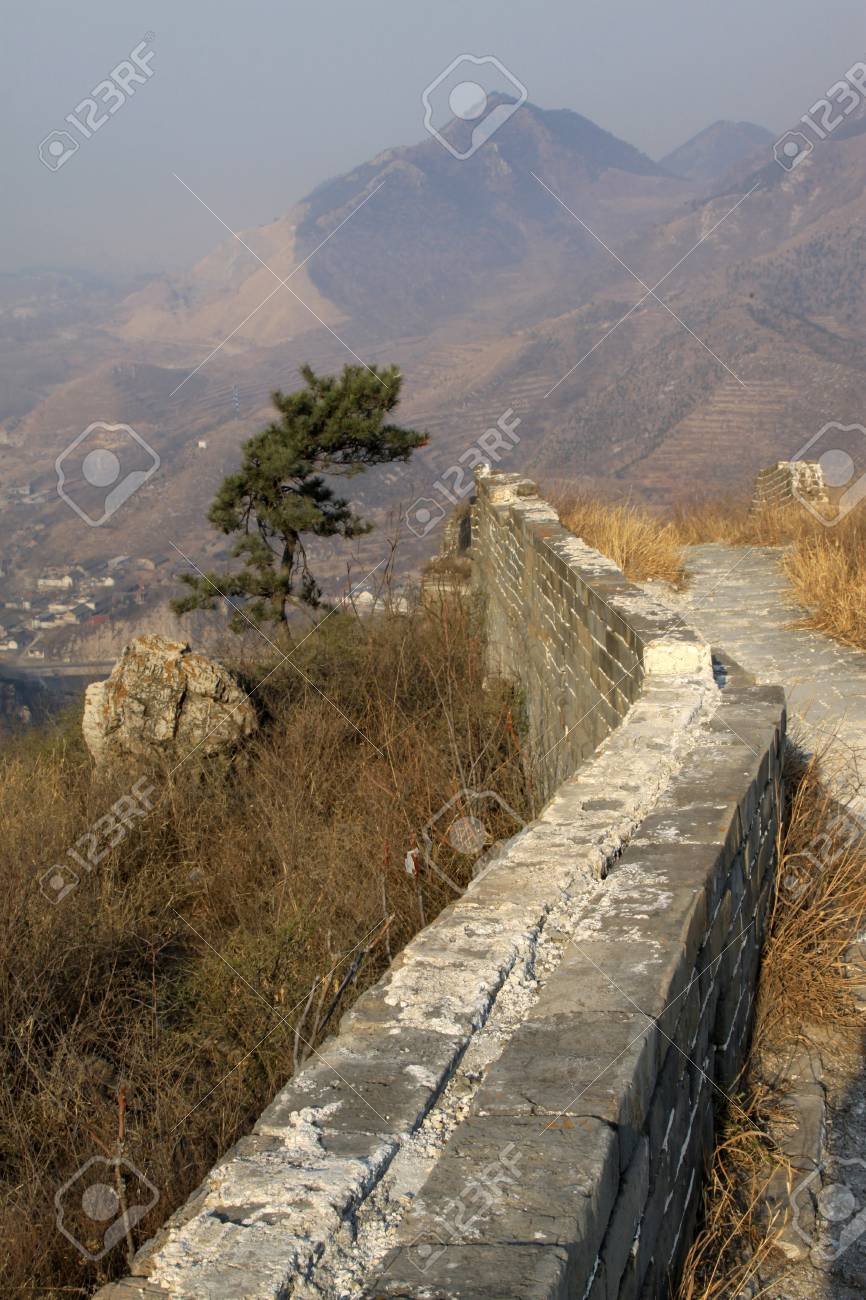 the original ecology of the great wall pass in north china Stock Photo - 13622717