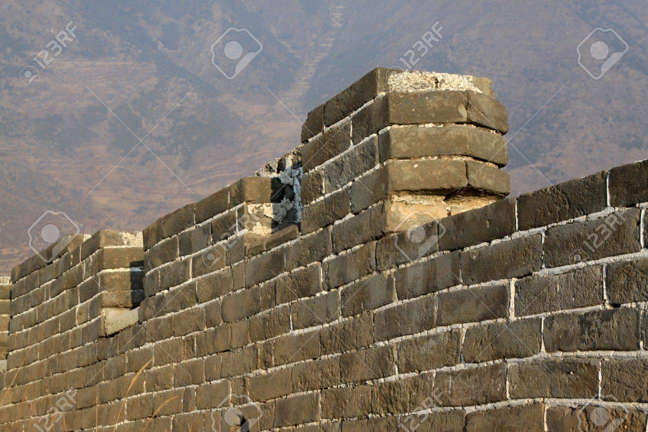 the original ecology of the great wall pass in north china Stock Photo - 13622713