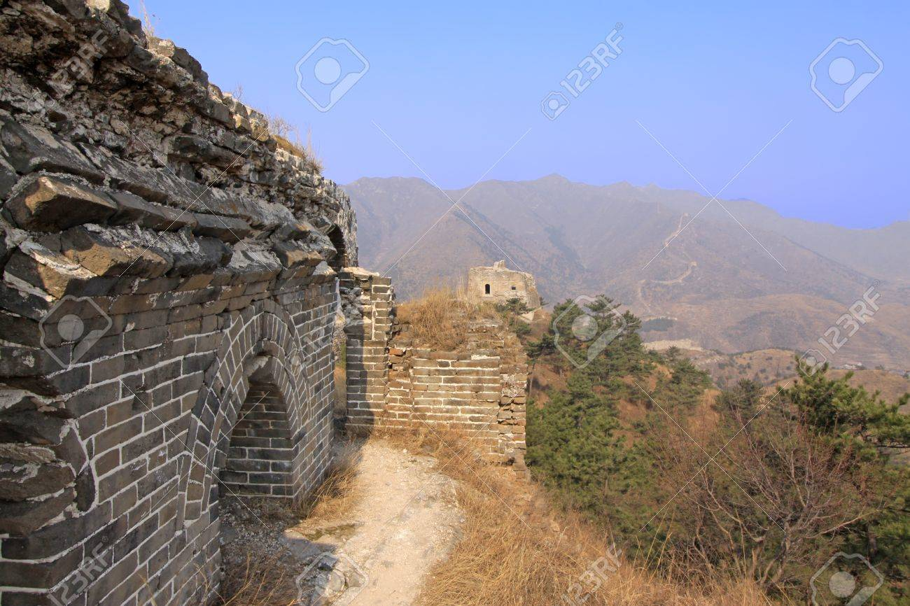 the original ecology of the great wall pass in north china Stock Photo - 15190615