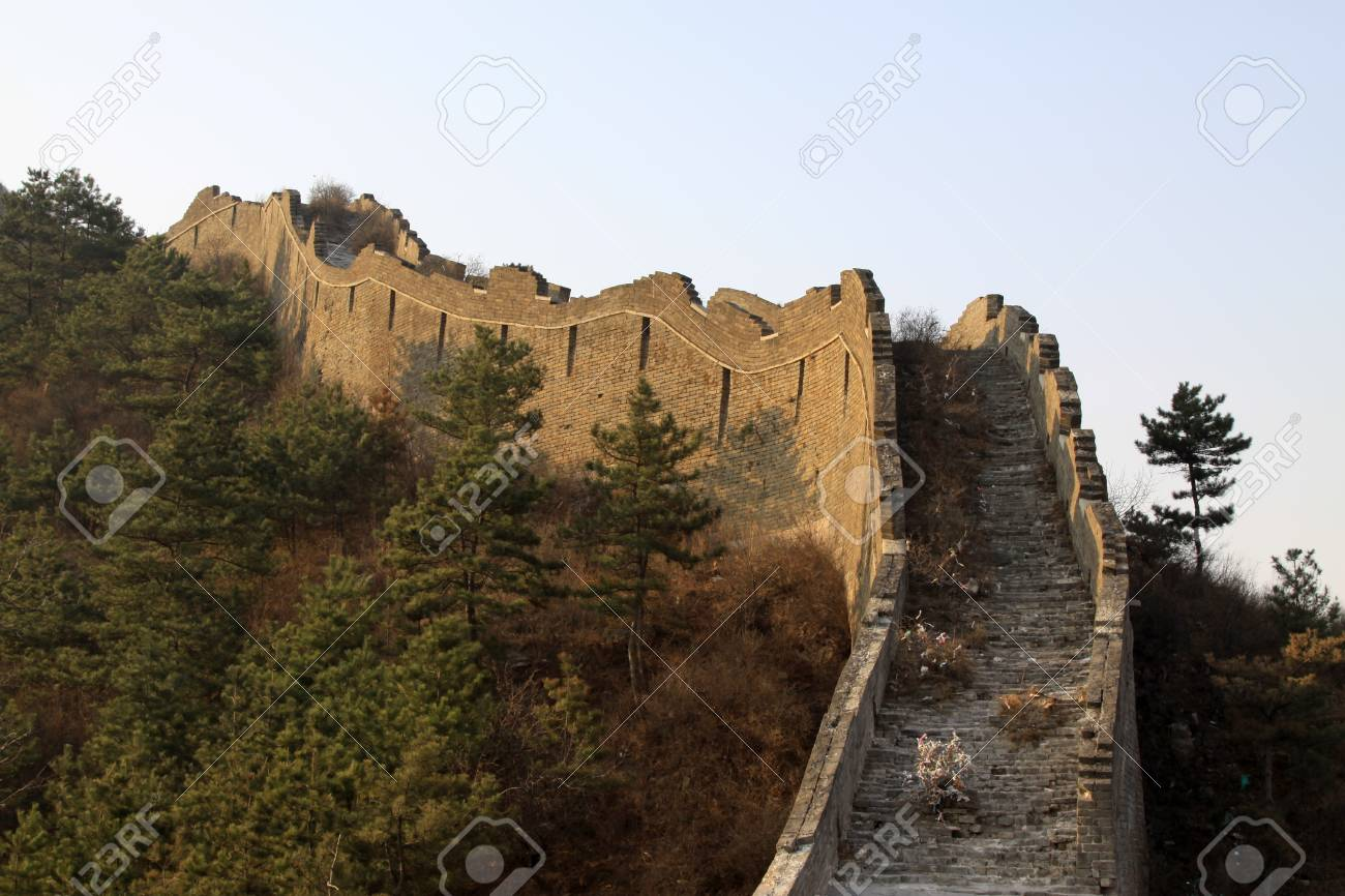 the original ecology of the great wall pass in north china Stock Photo - 15144841