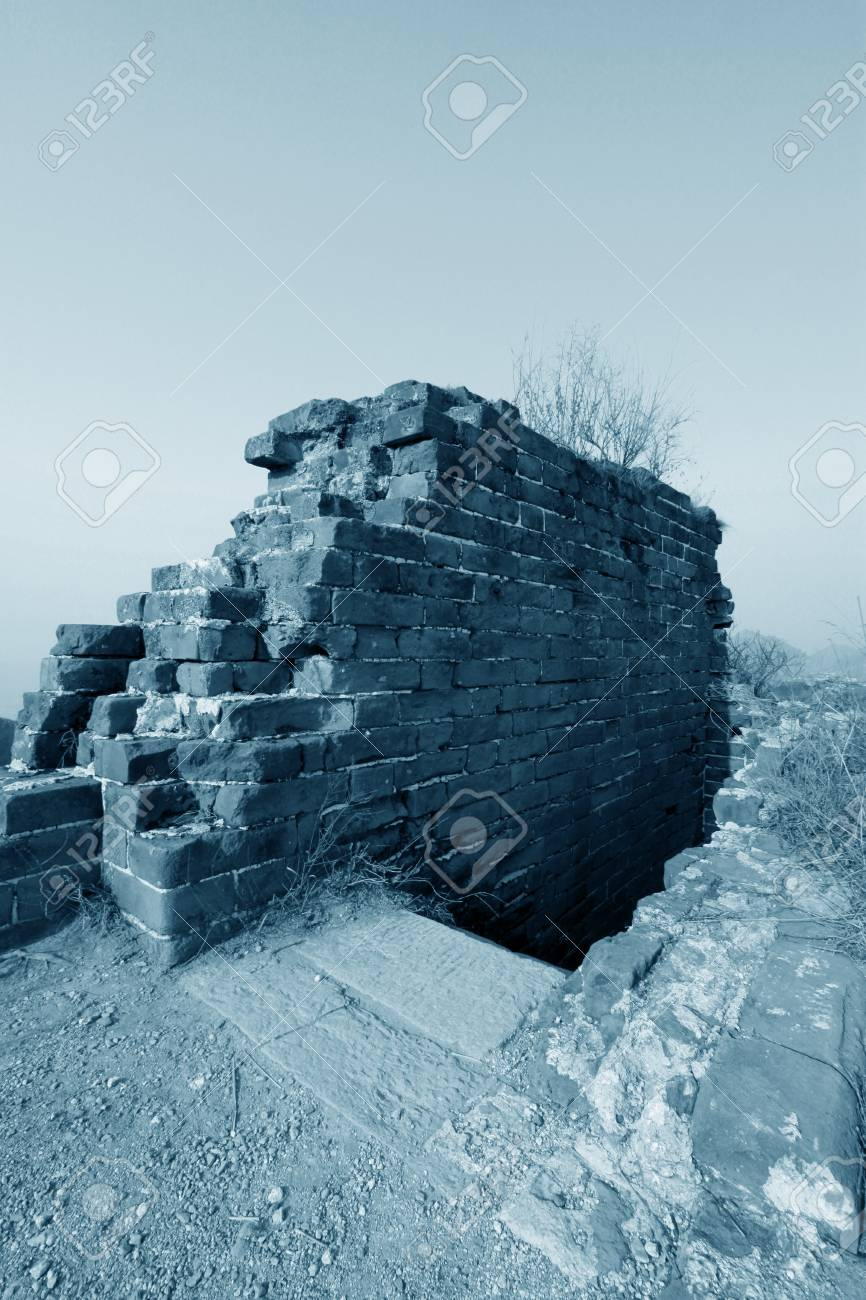 the original ecology of the great wall pass in north china Stock Photo - 15810956