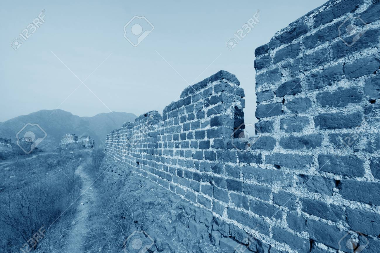 the original ecology of the great wall pass in north china Stock Photo - 15810960