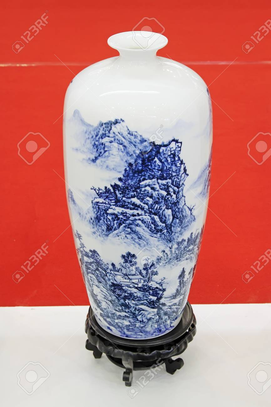 Chinese Vase Art Project