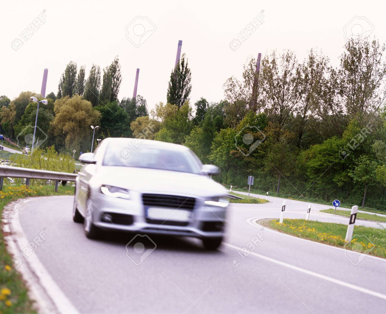 car in speed Stock Photo - 5305789