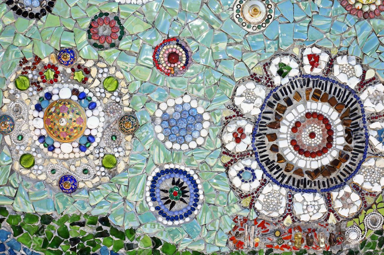 Ceramic Tile Patterns And Colors Stock Photo, Picture And Royalty ...
