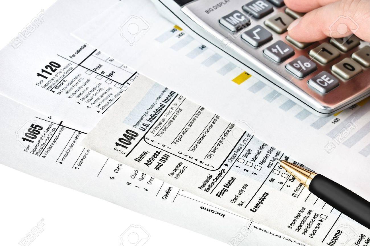Tax forms 104010651120 u s income tax return stock photo picture tax forms 104010651120 u s income tax return stock photo 12567973 falaconquin
