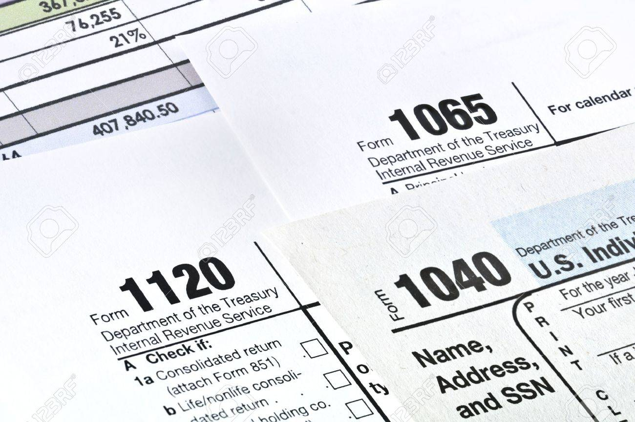 form 1065 and 1040  Tax forms 13,13,13 U S Income Tax Return