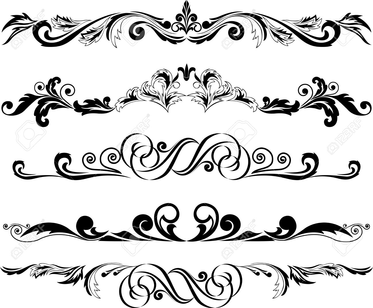 Decorative Horizontal Line Png