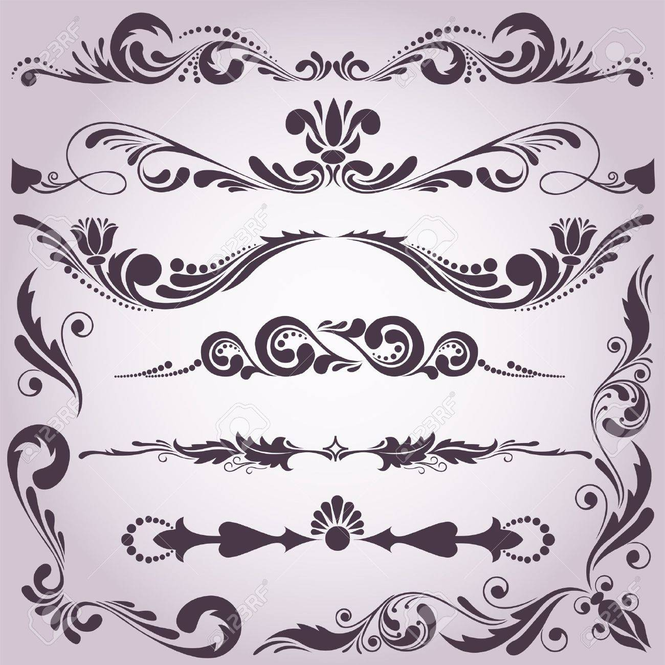 decorative accents stock photos royalty free decorative accents  - decorative accents collection of vintage decorative elements for yourdesign