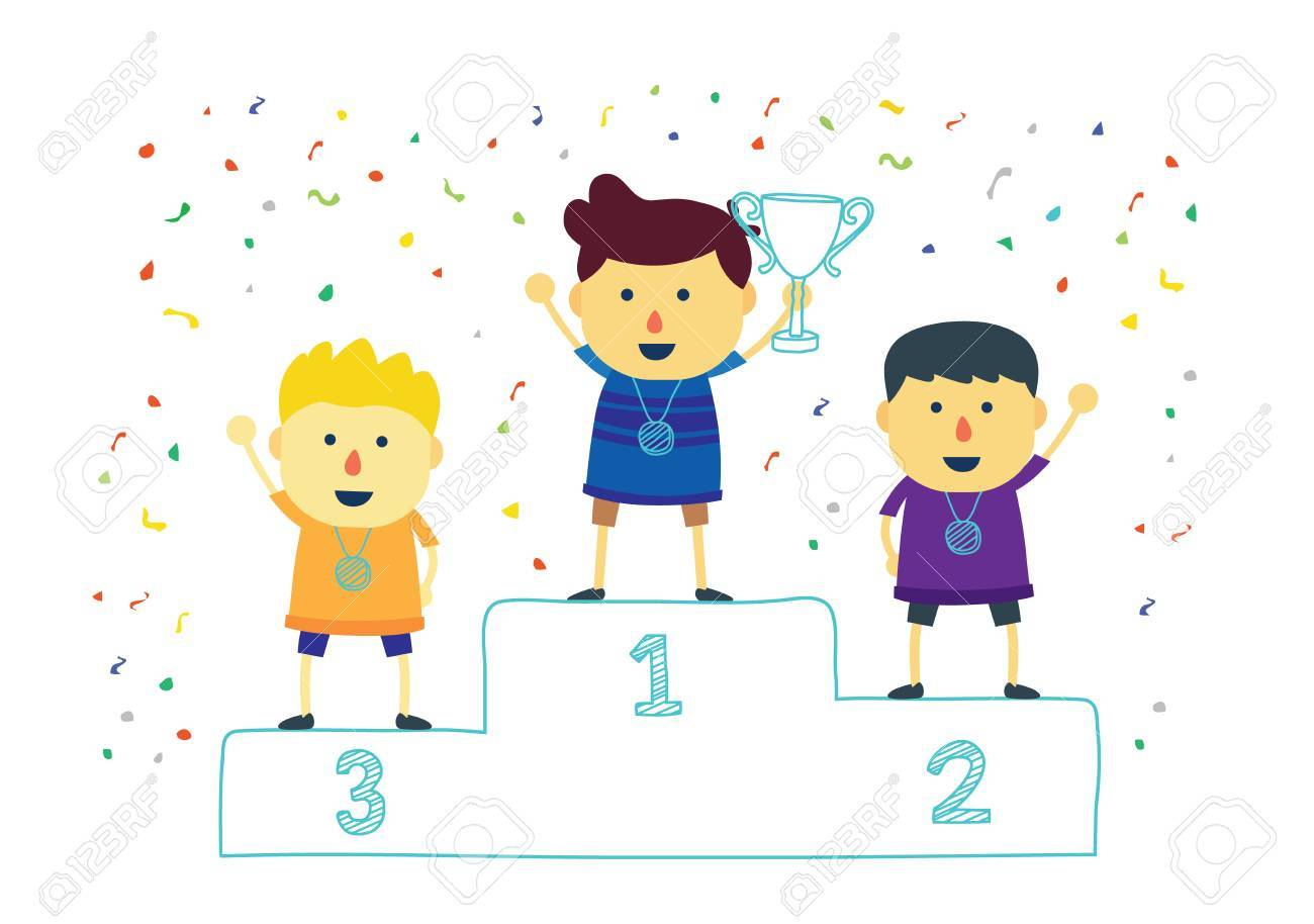 Image result for child with trophy winner clipart