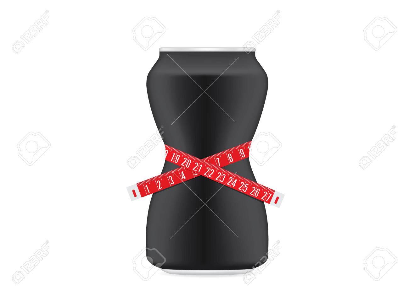 Trinken Sie Können Schwarze Farbe Eine Kurvenform Wie Ein ...