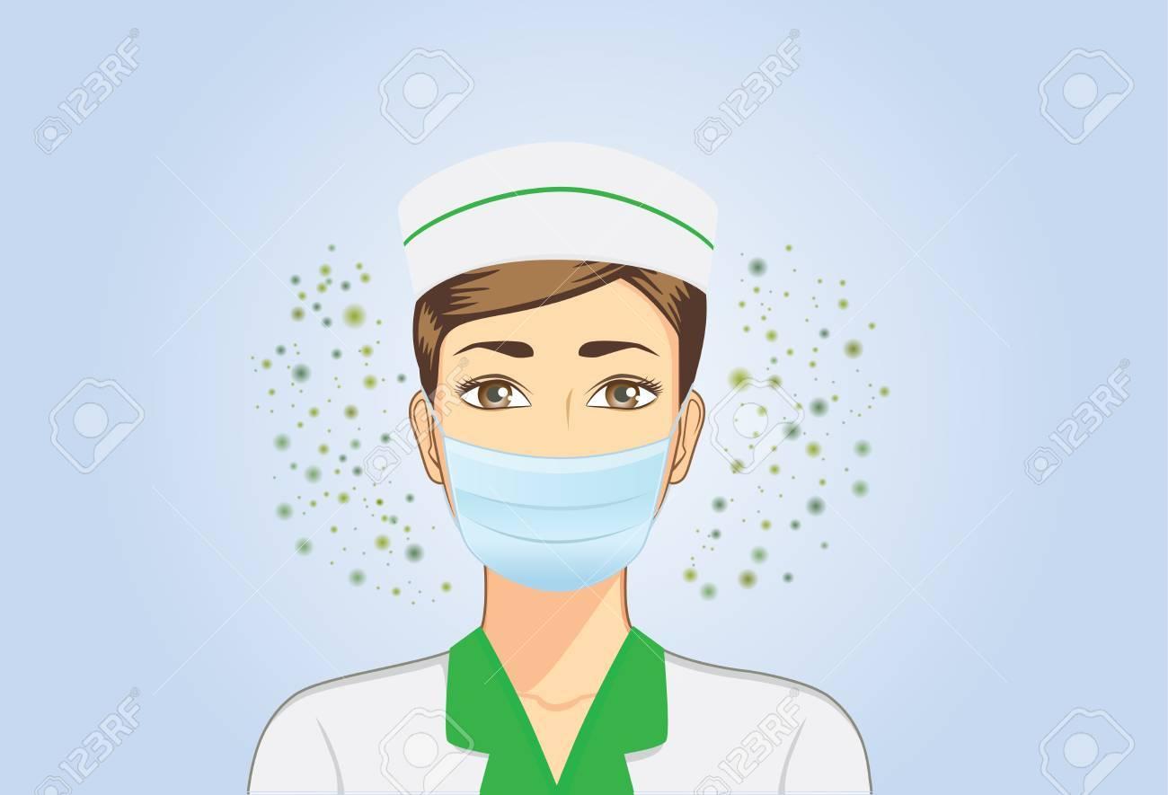masque respiratoire bacterie