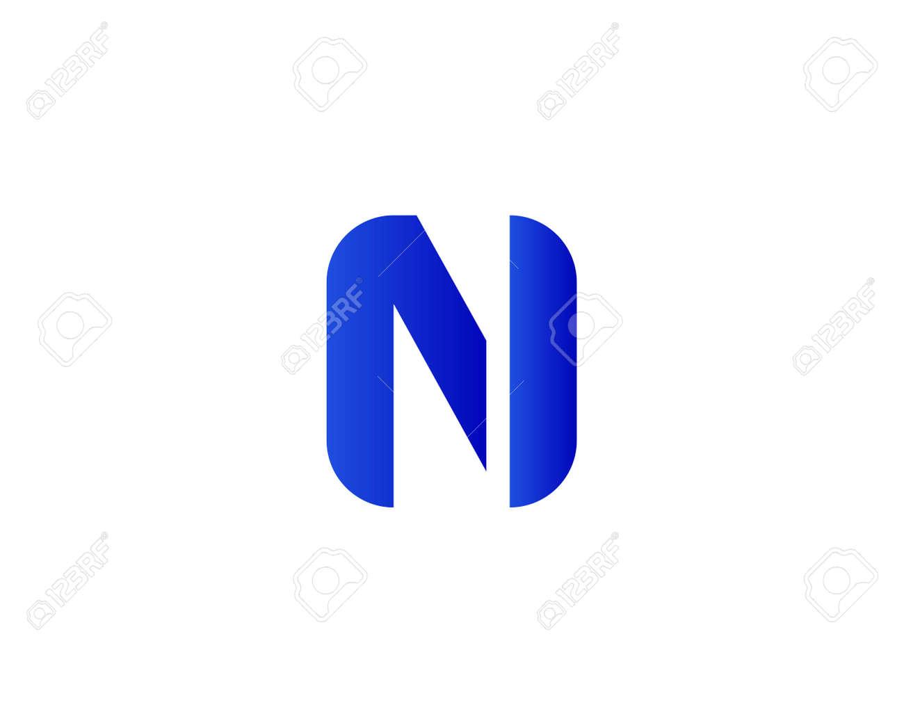 NI IN logo design vector template - 173624509