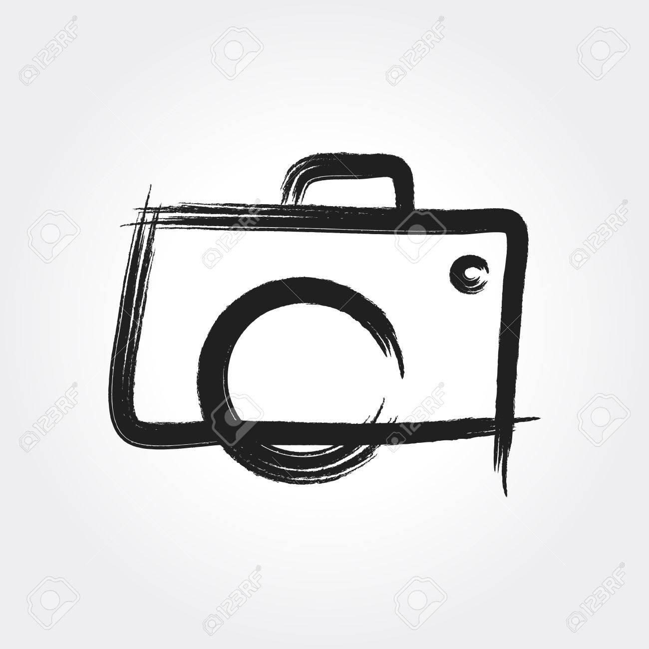 Hand Drawn Camera Photography Royalty Free Cliparts Vectors And