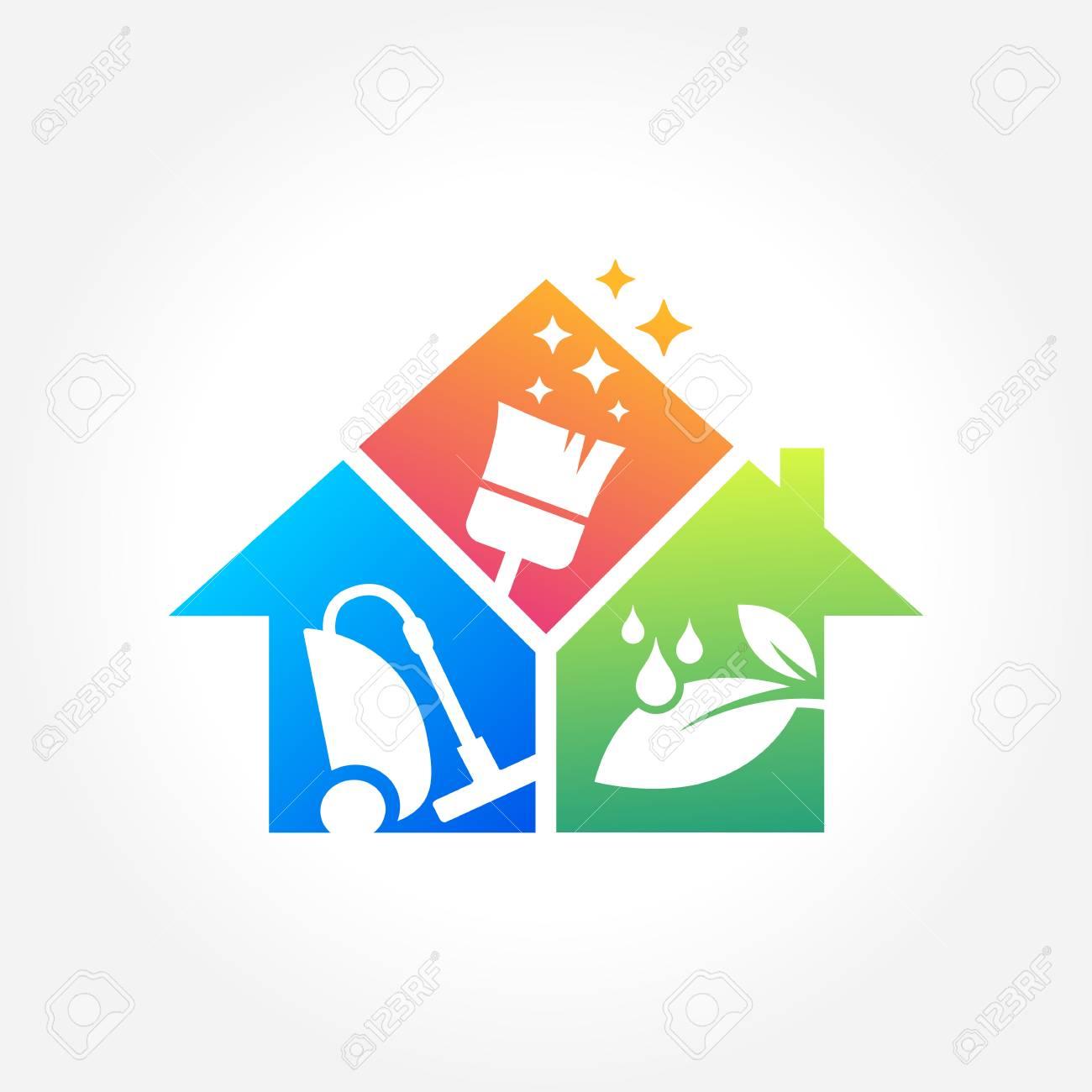 Reinigung Geschäfts Design, Eco Friendly Konzept Für Innen, Haus ...