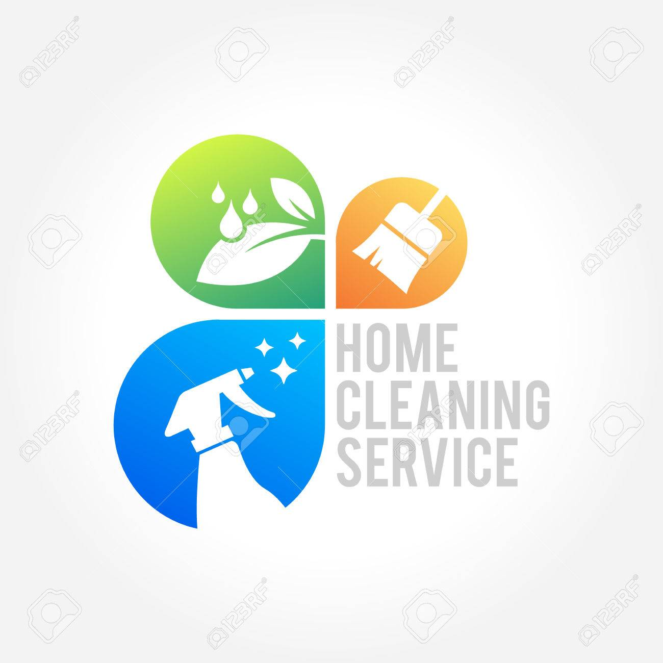Cleaning Service Business Design, Eco Friendly Concept For Interior ...