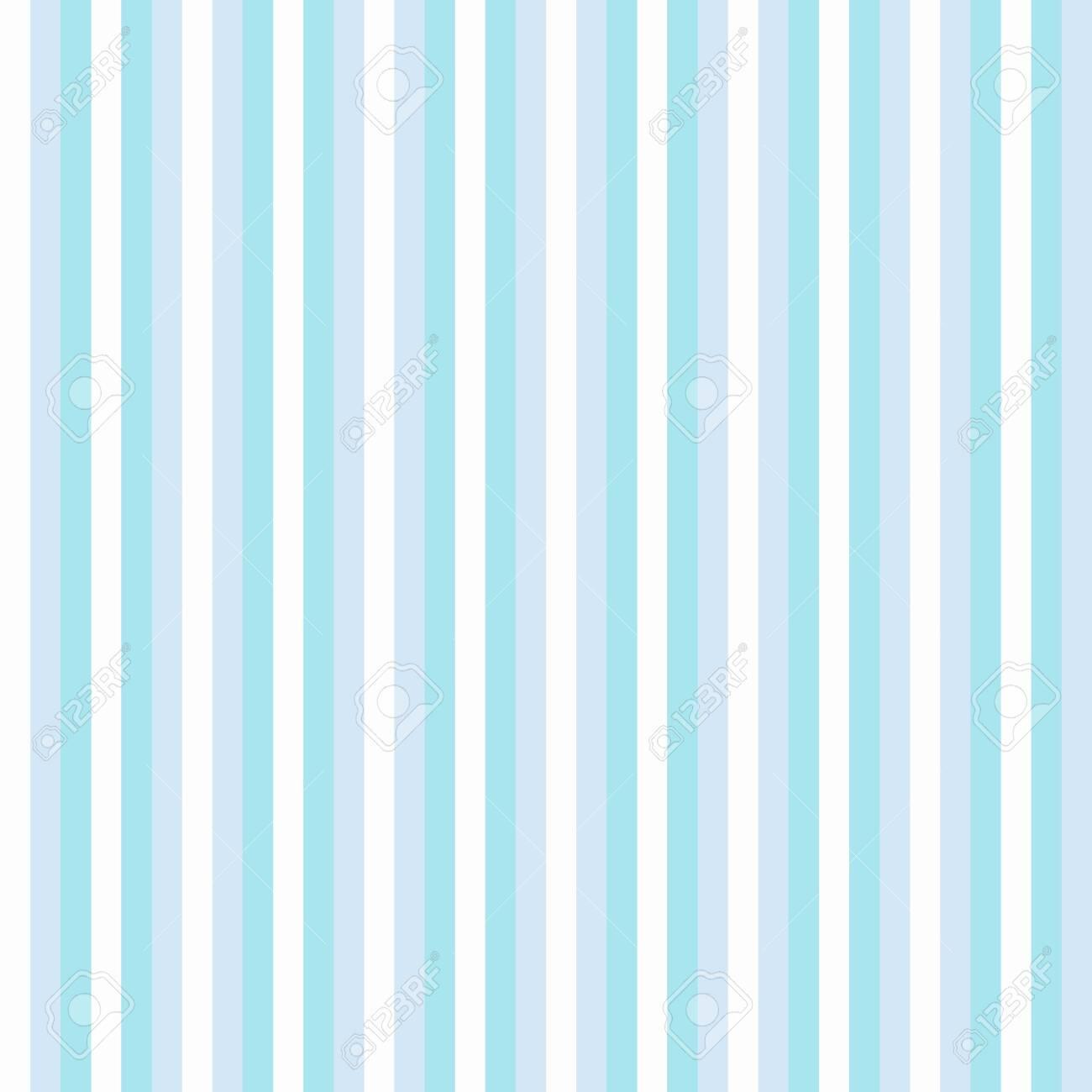 Blue Wallpaper Stripes