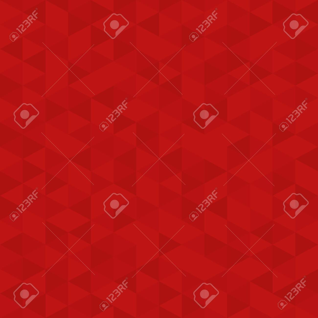Red Polygon Mosaic Bacground, Business Design Template, Low Poly Style Illustration - Vector - 128096561