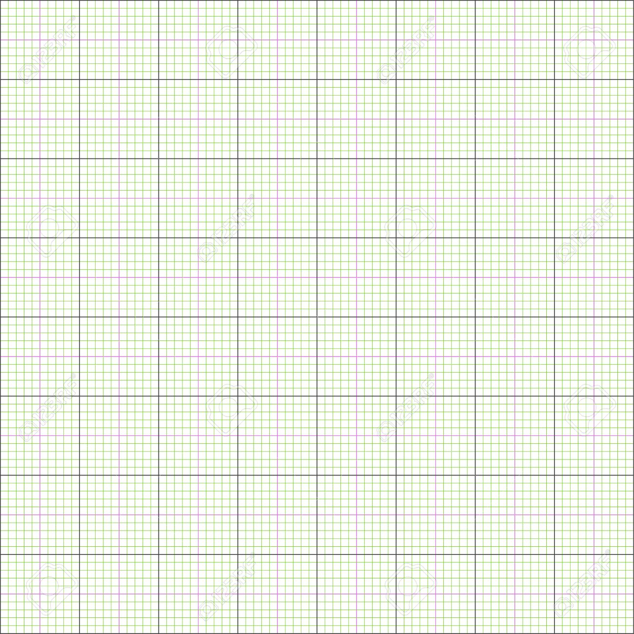 graph paper grid background 2d illustration vector eps 8