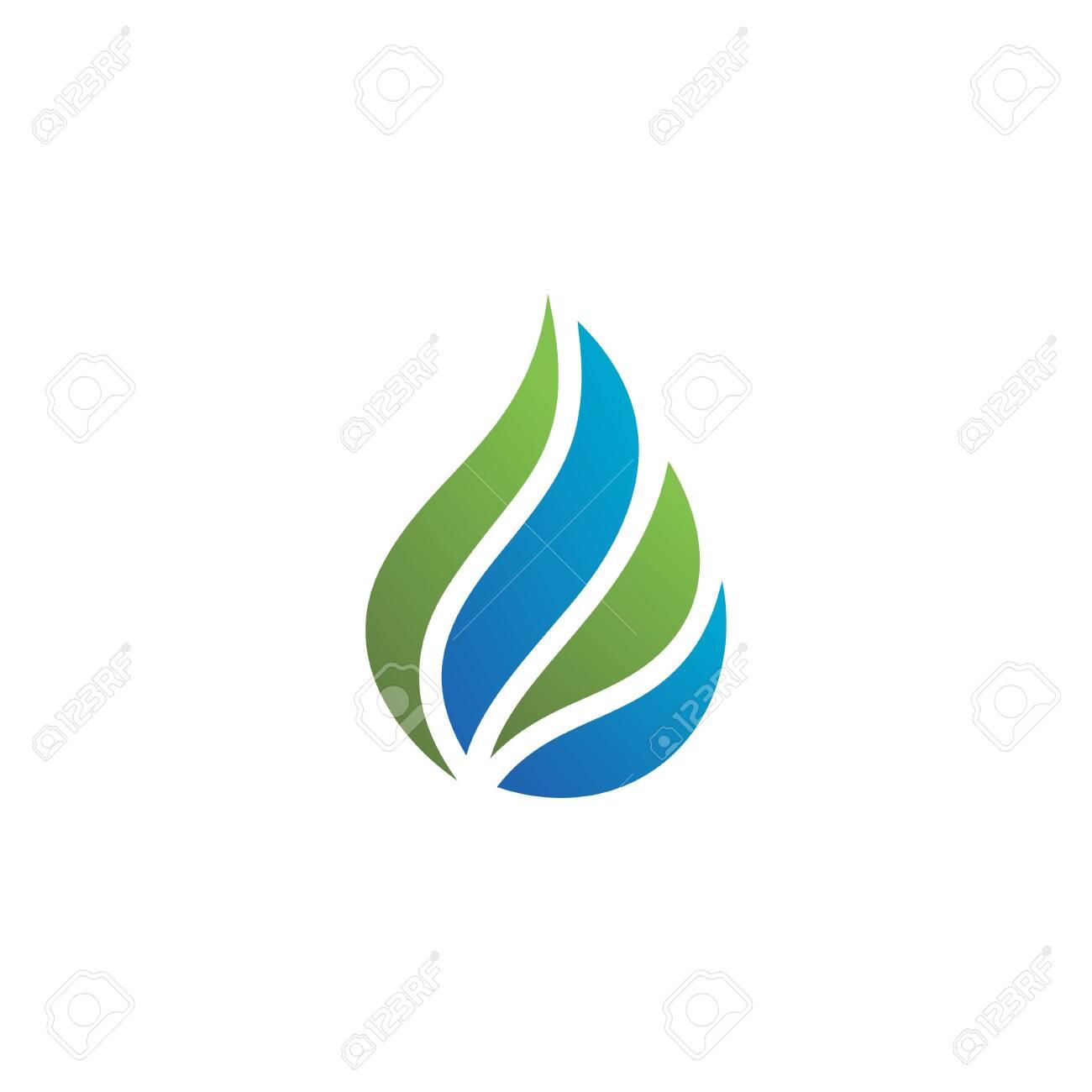 Water drop Logo Template vector illustration design - 143872727