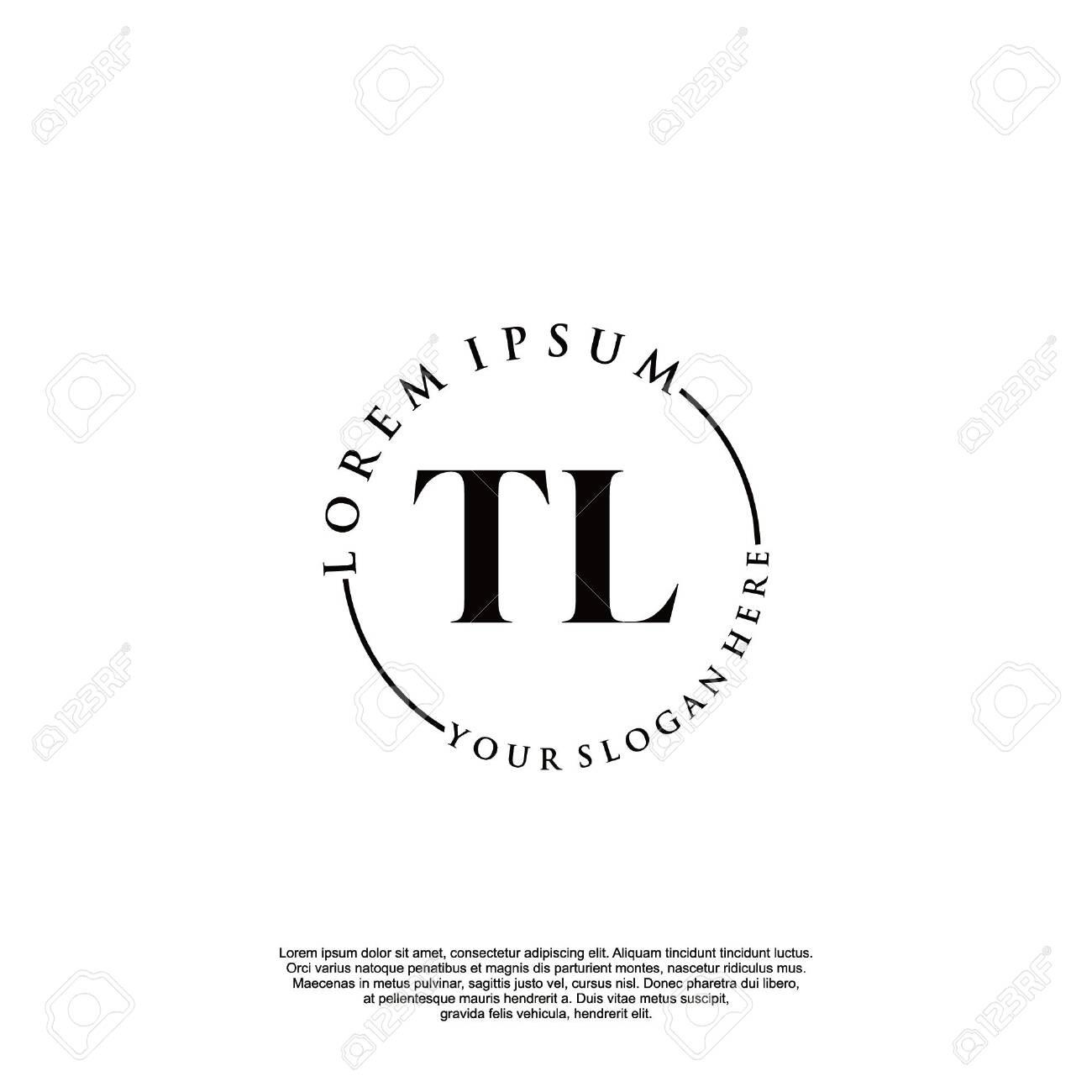 Initial luxury design logo for fashion and wedding. - 148256960