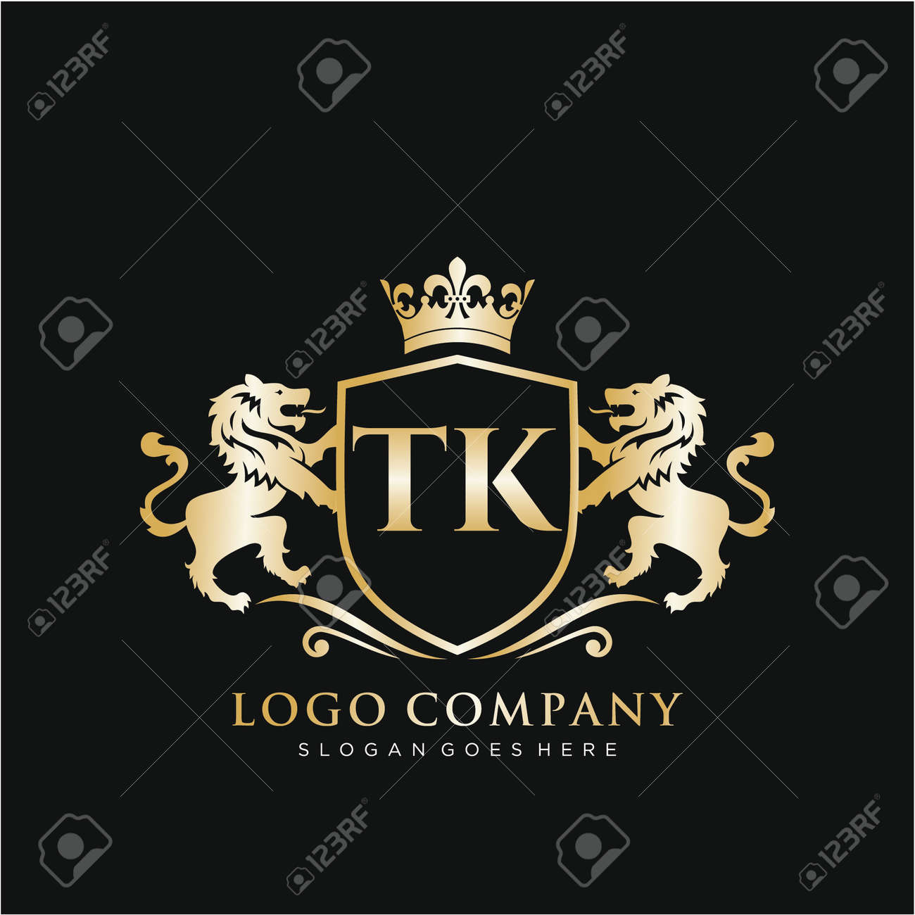 Initial handwriting logo design Beautyful designhandwritten logo for fashion, team, wedding, luxury logo. - 150504612