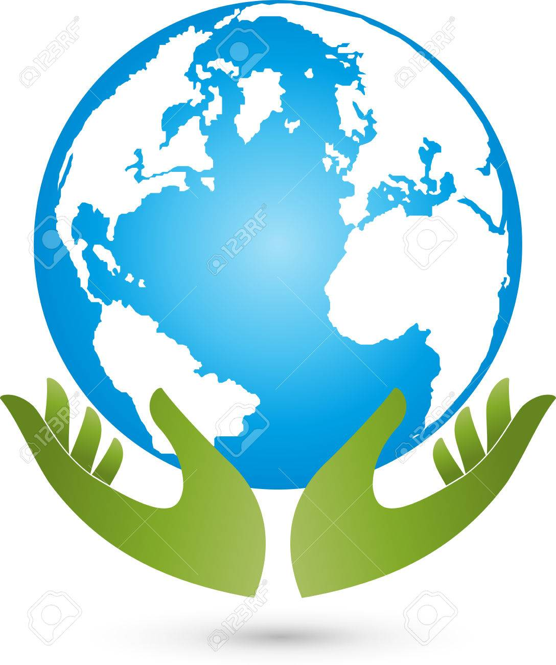 earth and hands globe world globe vector royalty free cliparts rh 123rf com world globe vector art world globe vector free download
