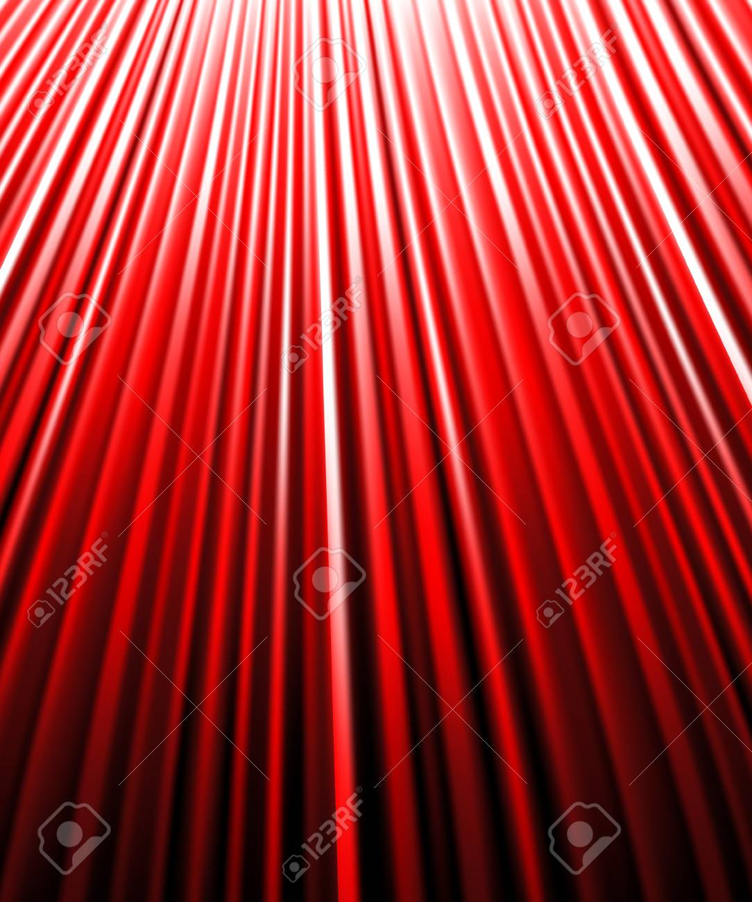background of redluminous rays. Vector illustration. Stock Vector - 28136333