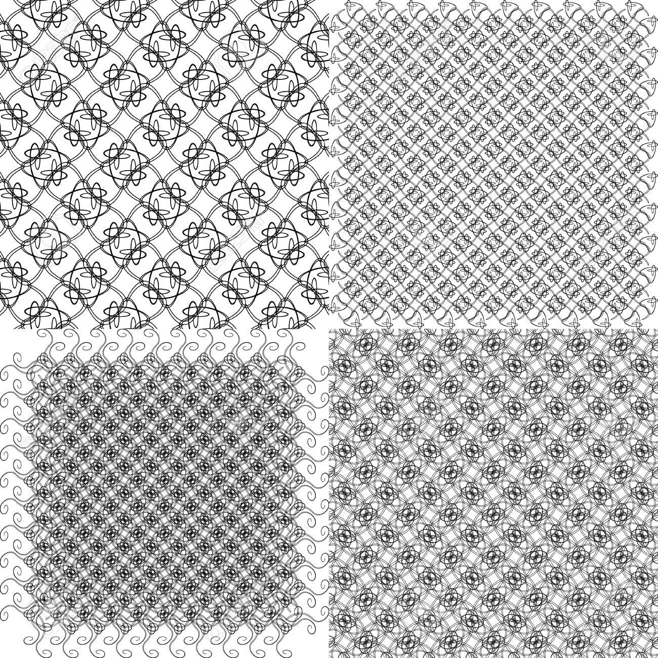 Definir Le Fond Abstrait De Papier Peint Geometrique Vintage Avec