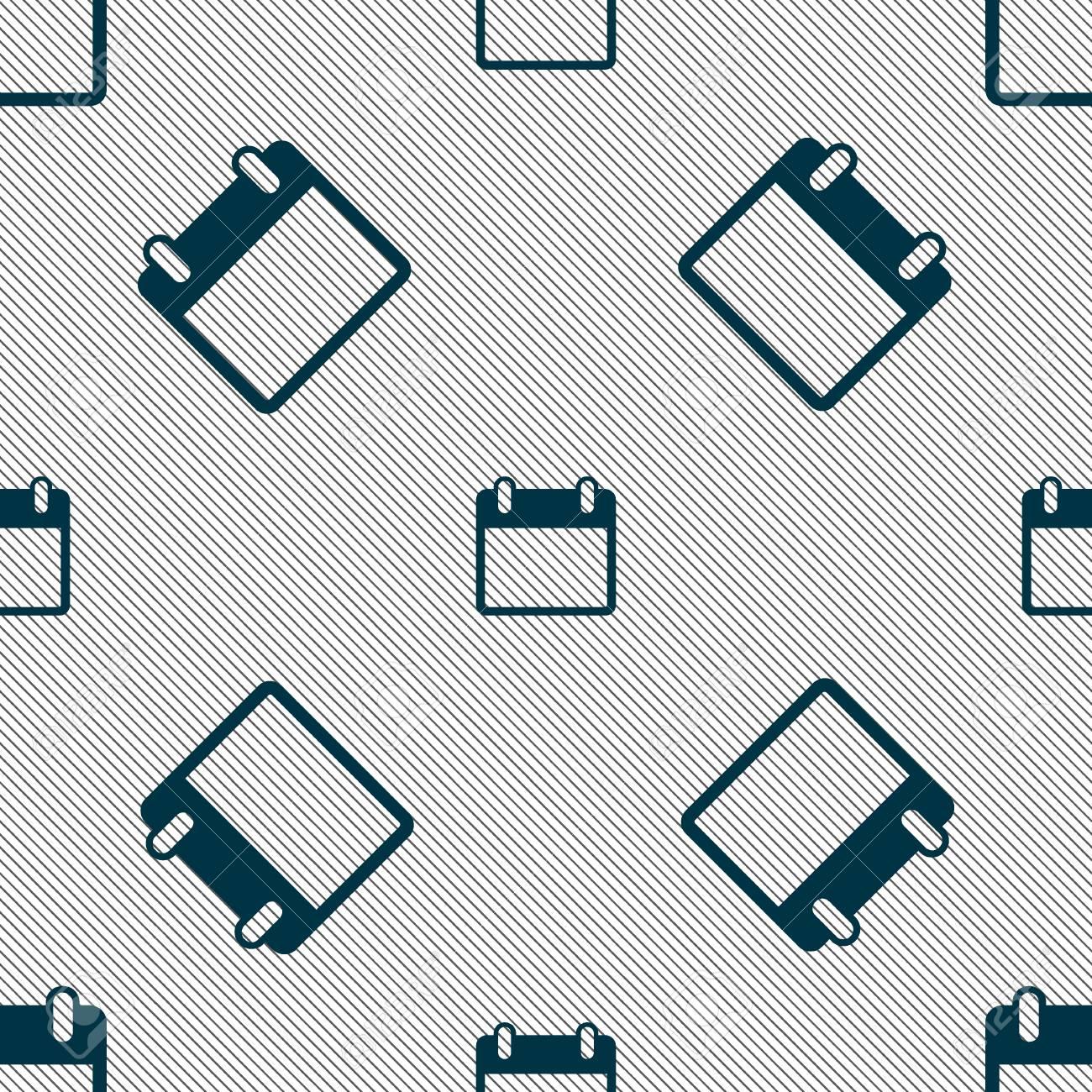 Icono De Signo De Calendario Simbolo Del Mes De Dias Boton Fecha