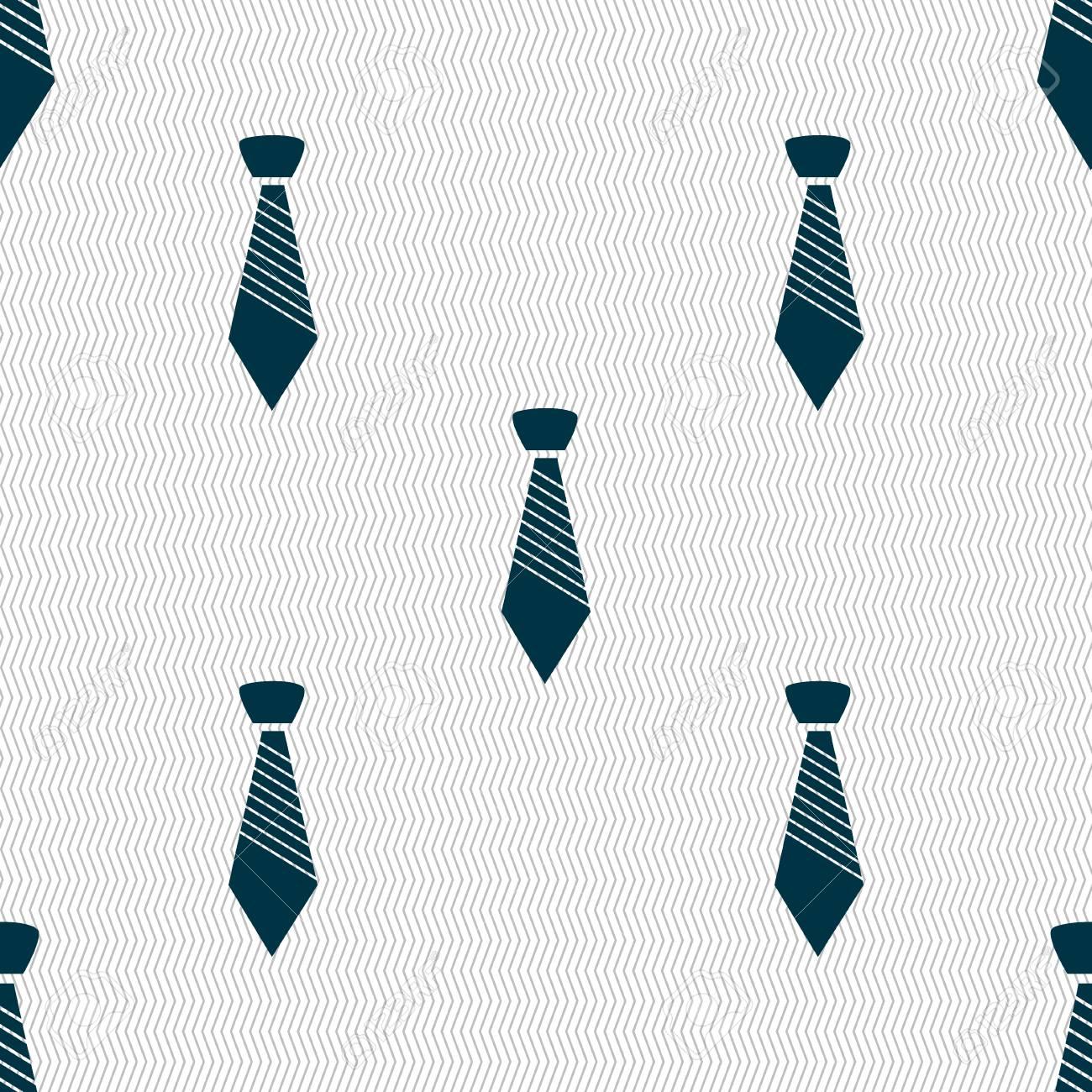 vente la moins chère vente en ligne prix de liquidation Icône de signe de cravate. Symbole de vêtements d'affaires. Fond abstrait  transparent avec des formes géométriques. illustration