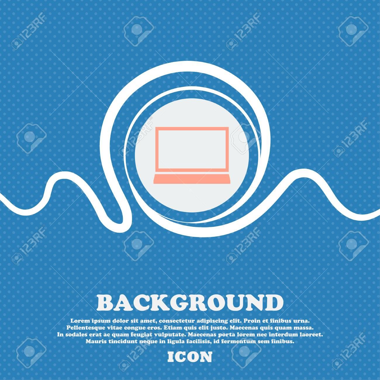 Vettoriale Icona Del Segno Del Computer Portatile Simbolo Del Pc