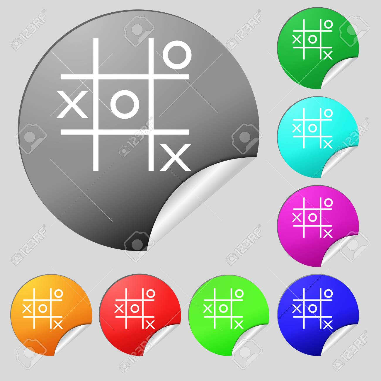 tic tac toe multiple game