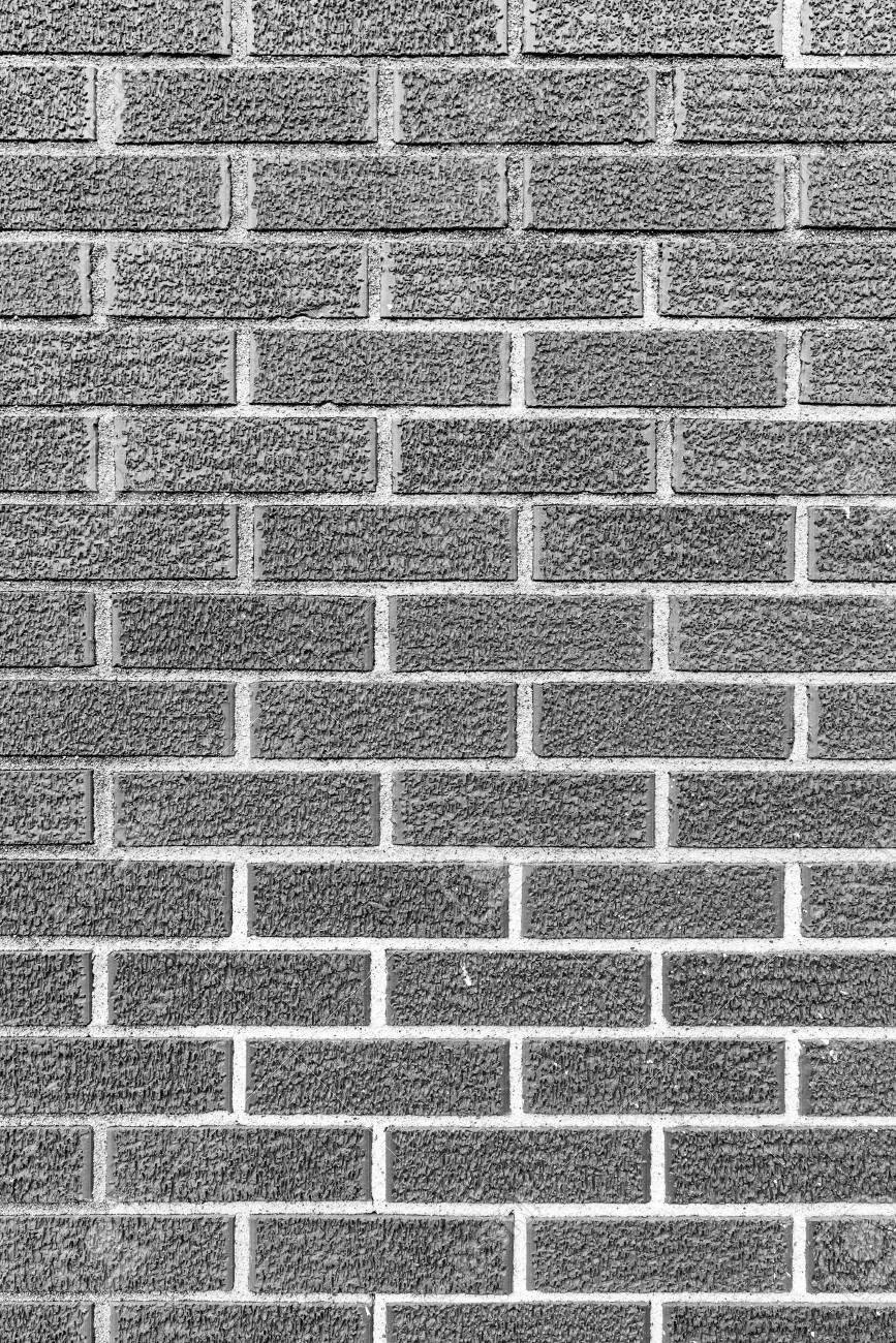 Grey Brick Wall Wallpaper Texture Black And White