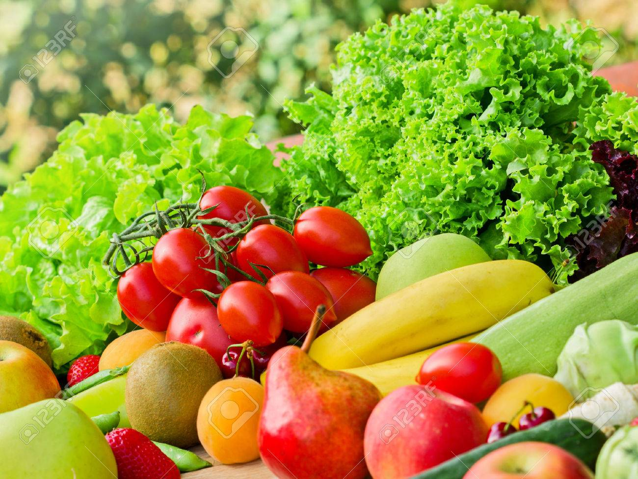 Fresh fruits and vegetables - 46898758