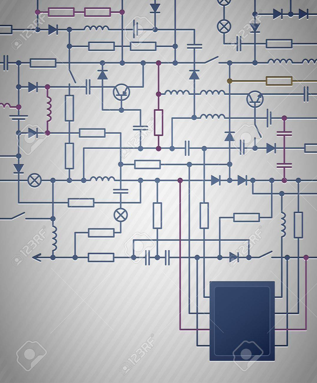 drawing an electrical schematic the wiring diagram background an electrical circuit diagram royalty electrical drawing