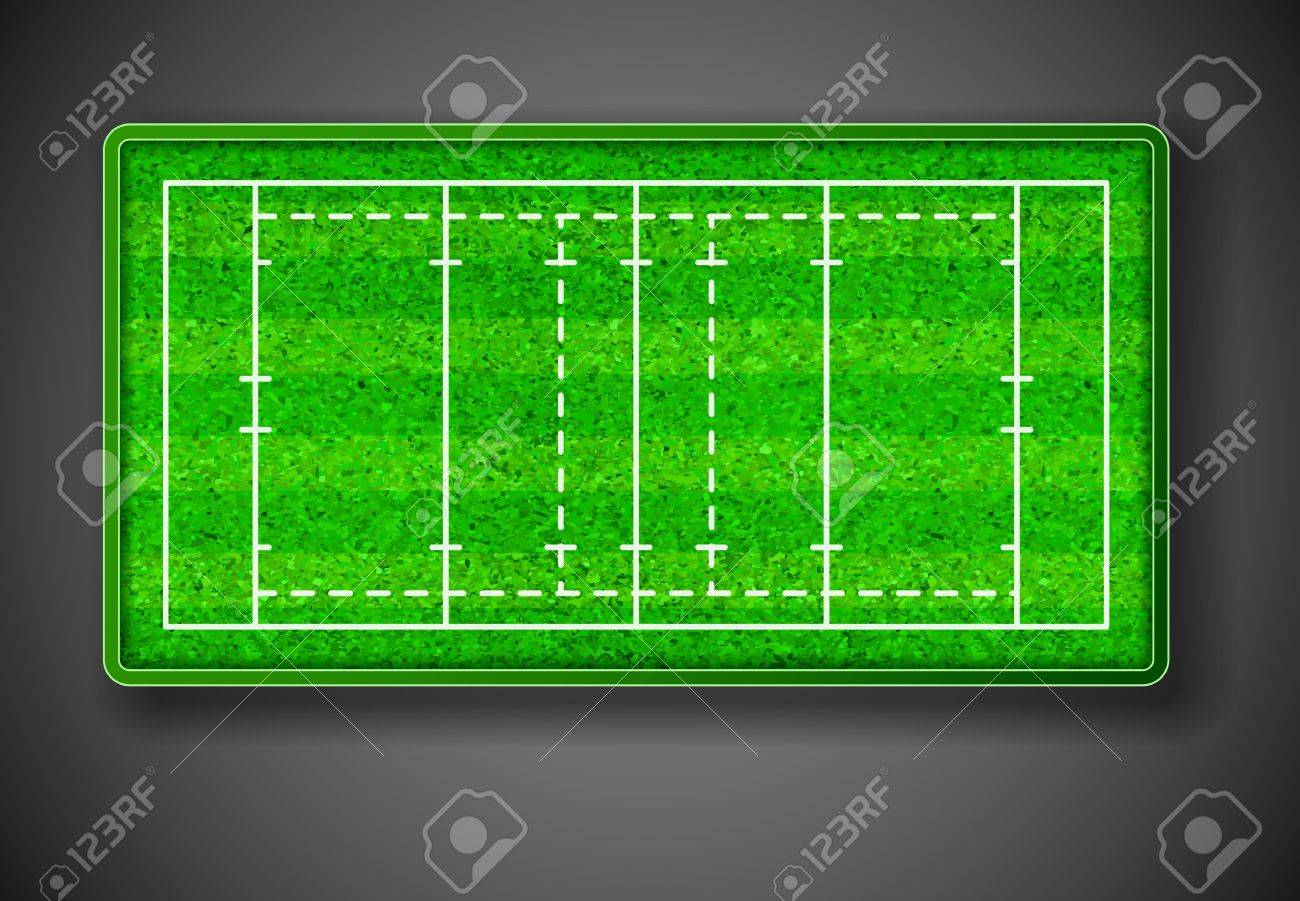 Rugby stadium on top  Eps 10 Stock Vector - 14646033